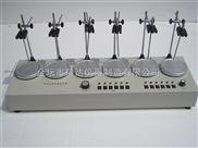 四联磁力加热搅拌器