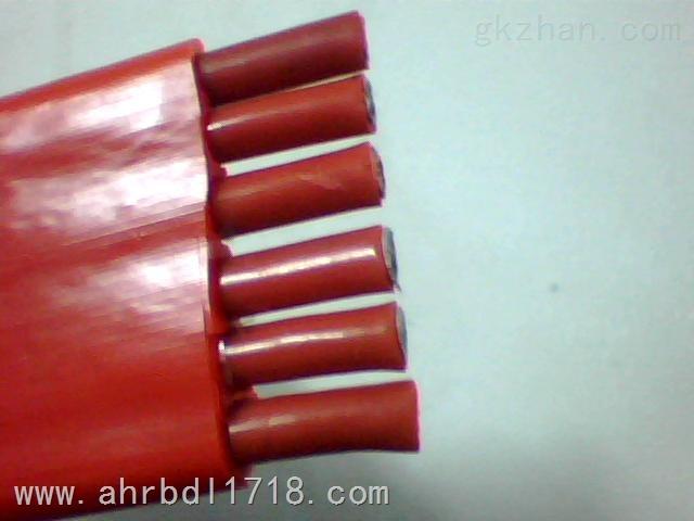 硅橡胶丁晴复合物扁电缆