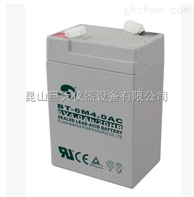 赛特BT-6M4.0AC蓄电池,6V4Ah电子秤电池