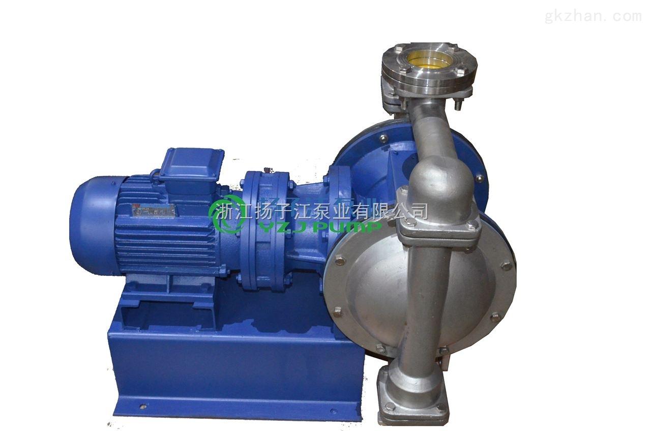 隔膜泵:DBY型不�P�防爆��痈裟け�