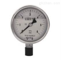 Y-100A半钢压力表(0-60MPa),上海自动化仪表四厂,白云牌