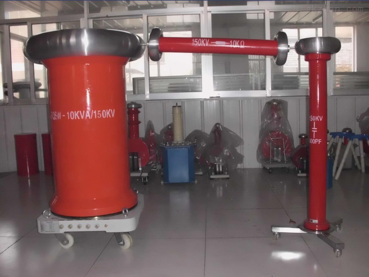 试验变压器成套装置 一, 适用范围  本套装置主要用于部分35kv电压