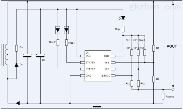 hb5900-电池充电器和适配器的恒压/恒流控制器hb5900