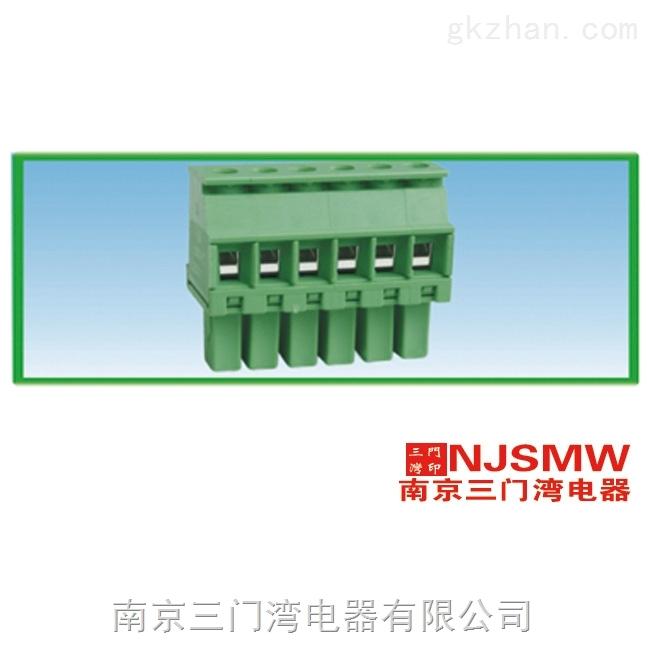 三门湾 WMCVR1.5-3.5/3.81-6P PCB线路板接线端子