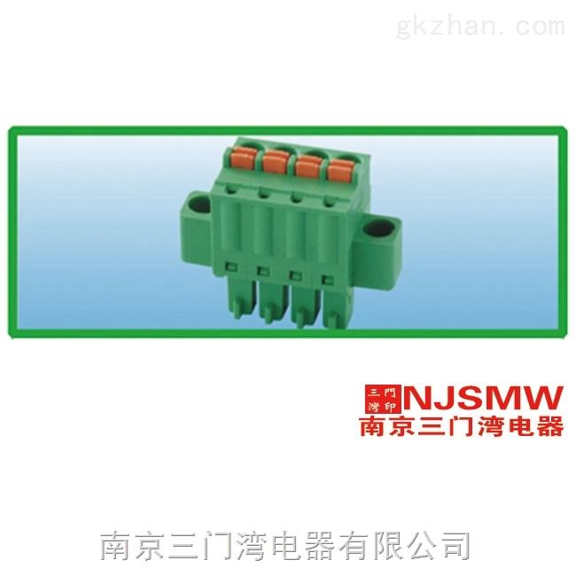 三门湾 WVSTBR2.5M-5.08-6P PCB线路板接线端子