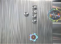 """""""亞銀-白金""""系列裝飾版紋設計/光學印刷材料"""