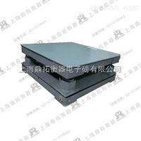 SCS称钢材的3T电子地磅,称钢卷缓冲5T电子平台称