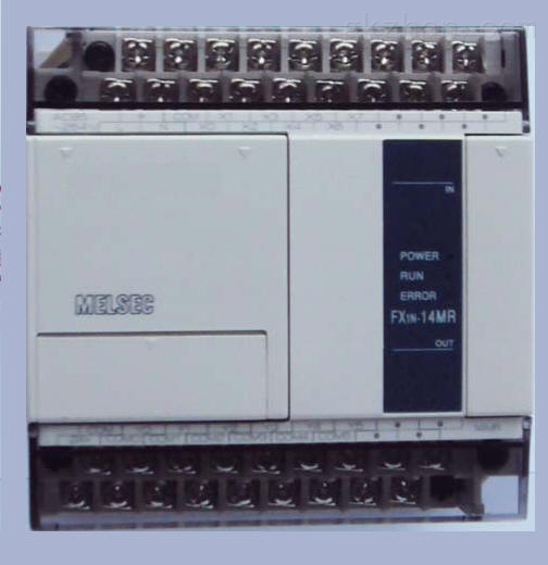 plc点动控制 fx1n-14mr-001