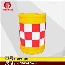 厂家直销吹塑工艺 加厚款 道路公路专用 防撞桶 防撞路墩  DW-T01