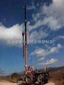 东风1004 拖拉机吊挖一体机 液压打孔机 电话 冻土可用
