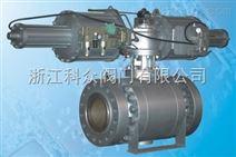 Q6747Y气液联动高压锻钢球阀