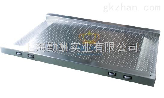 超低电子地磅-推车单层不锈钢平台秤