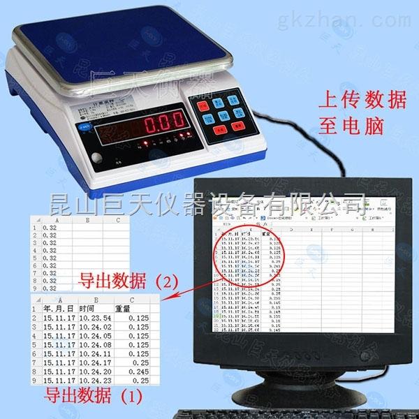 JWS-A8电子秤连续输出称重数据至电脑台称