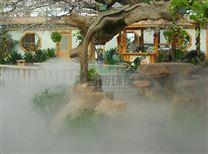 河水/小溪/人造雾水景喷雾造景系统/景区景点人造雾景观喷雾设备报价