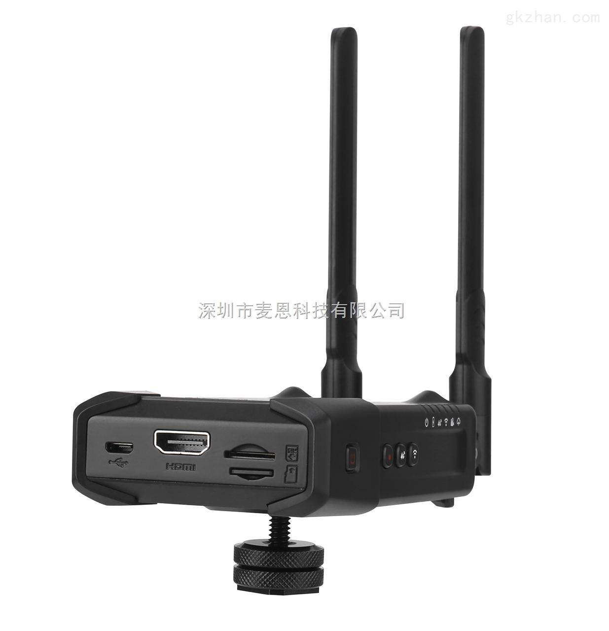 H.265高清视频编码器WIFI/4G无线带录制户外推流机斗鱼直播编码器