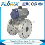 用于流体的调节与控制气动不锈钢高压球阀