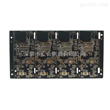 深圳pcb6层沉金固态硬盘电路板加工厂商
