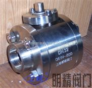 Q61F不锈钢高压焊接球阀