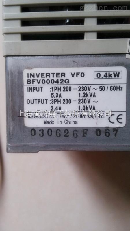 松下变频器vf-8x系列故障维修