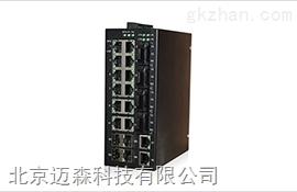 网管型导轨式工业以太网交换机