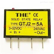 GTJ2-5A-TEE无锡天豪固态继电器 GTJ2-5A 单列小型交流 原装正品