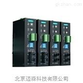 moxa工业级串口转光纤转换器