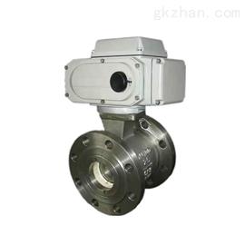 PBQ3407H电动侧装式偏心半球阀,旋转阀