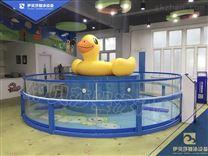 江西宜春儿童透明玻璃泳池_伊贝莎厂家