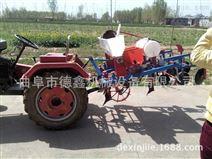 拖拉机多功能两行玉米花生大豆播种覆膜机