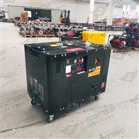 HS12000T双缸四冲程10KW柴油发电机