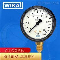 德国威卡WIKA波登管压力表铜合金材质113.13