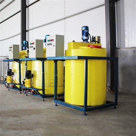 广西桂林全自动加药装置水处理设备安装案例