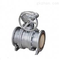 Q341TC蜗轮耐磨排渣陶瓷球阀/