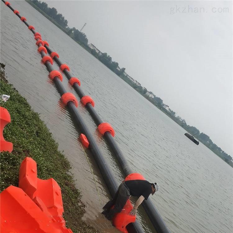 水上组合半片浮筒 抽沙抽泥浮体厂家