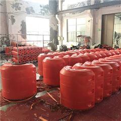 600*700河道淤泥清理浮管 浮筒中间夹管可施工