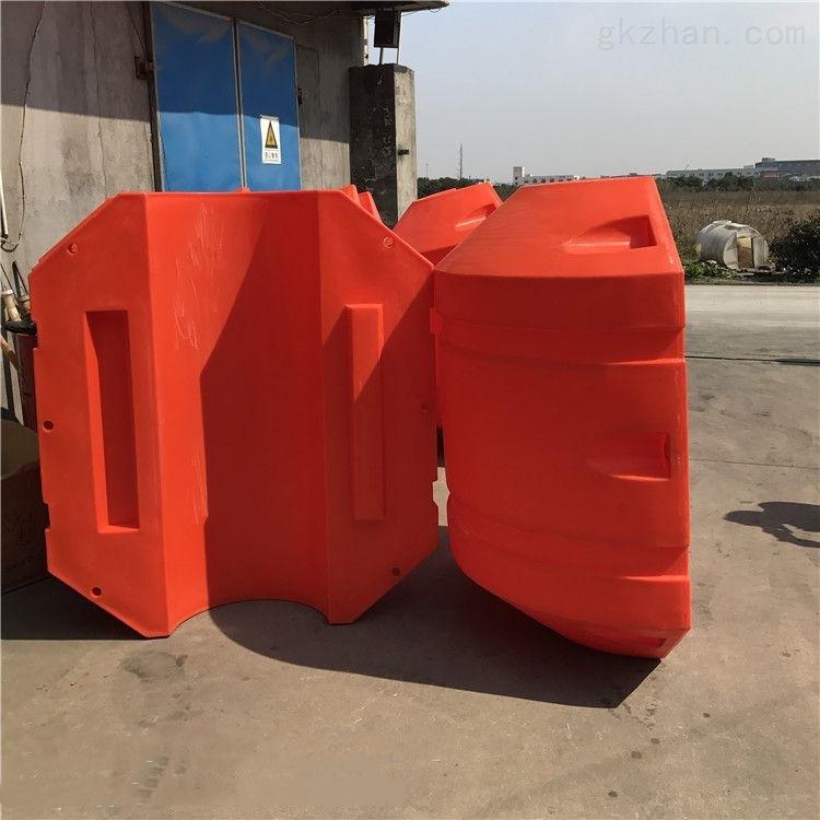 淤泥排泥管浮筒 软性管线浮筒