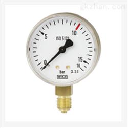 WIKA 威卡波登管压力表标准焊接111.11