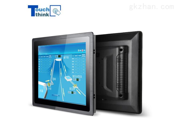 觸想17寸防塵防水嵌入式工業顯示屏電容觸摸