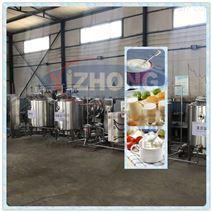 酸奶发酵杀菌不锈钢设备 巴氏杀菌奶生产线