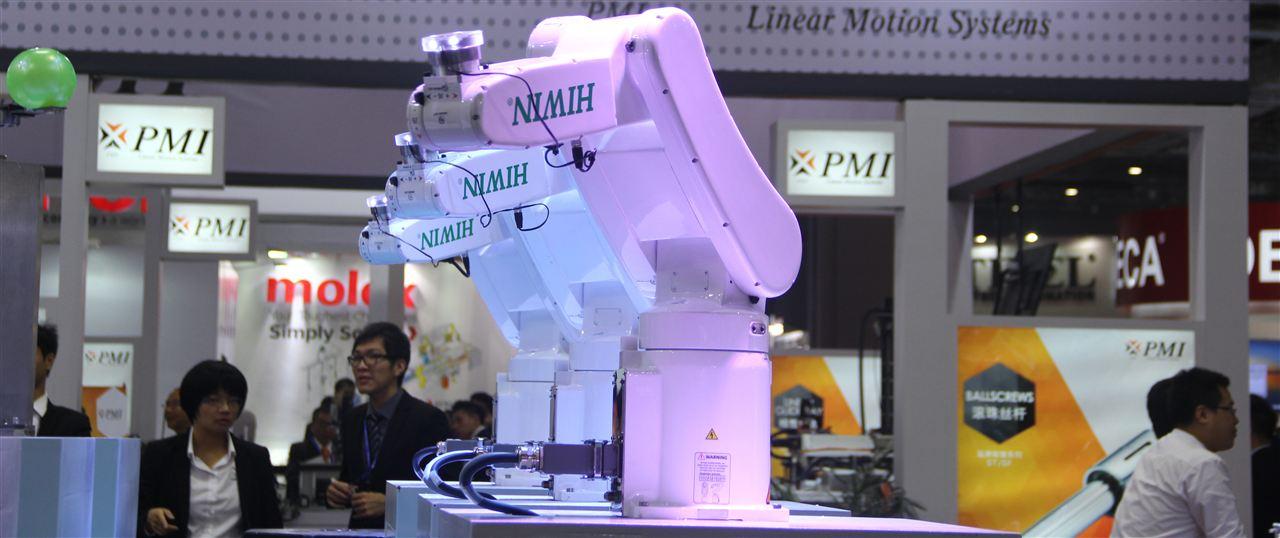銀泰科技PMI新品機器人成亮點
