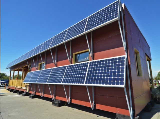 太阳能房屋 在未来也能拥有这样的居住环境