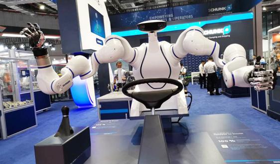 1257亿!深圳机器人产业交出一份满意答卷