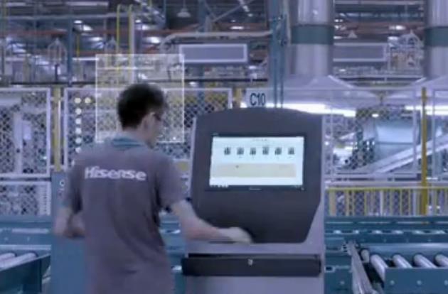 海信智能制造工厂 引领中国工业4.0