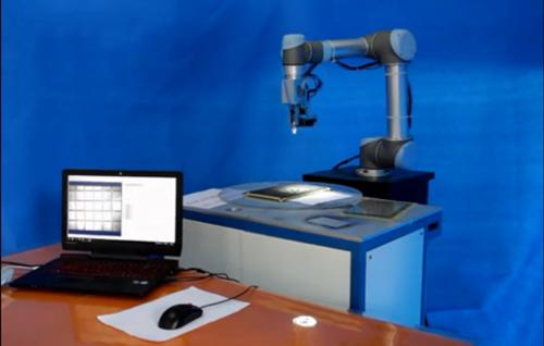 华天视航机器人视觉引导对位