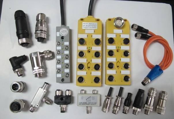 拖链电缆组件