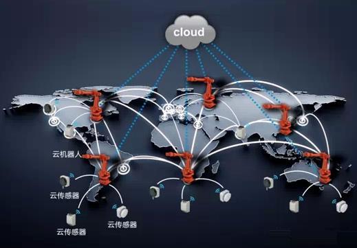 国内首个工业云机器人 随时随地查看运行数据