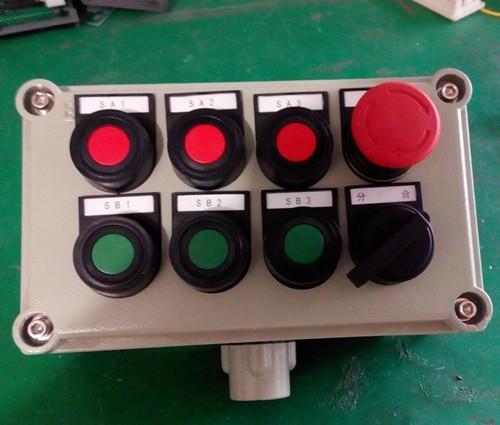 升降电机正反接多按钮转电路图