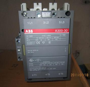 鸡西市abb交流接触器a300-30-11