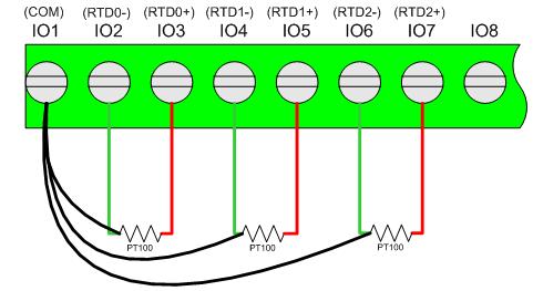无线热电阻采集模块