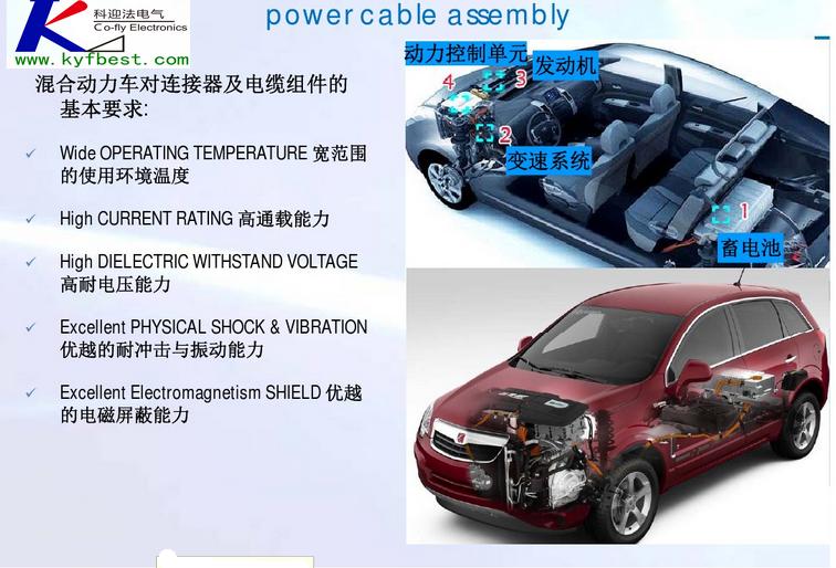 新能源汽车大电流连接器